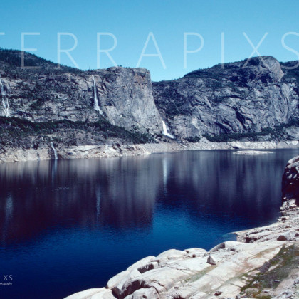 YOS132 Hetch-Hetchy Reservoir-Yosemite NP, CA