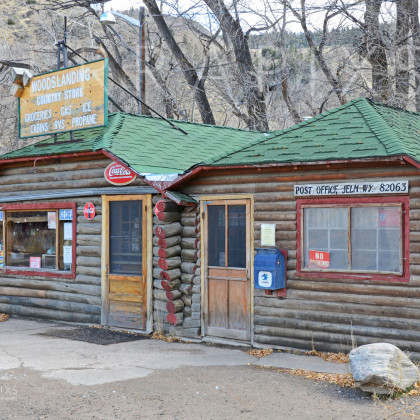 MTA117 General Store & Post Office-Woods Landing, WY