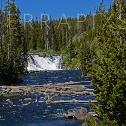 YEL101 Firehole River-Yellowstone NP, WY