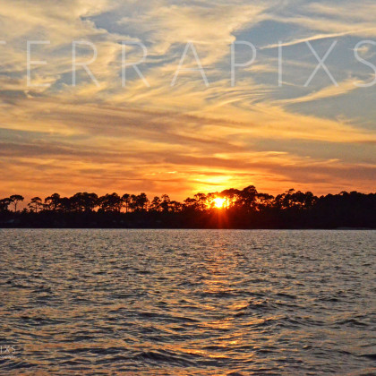 GUL215 Sunset Gold-Perdido Bay, AL