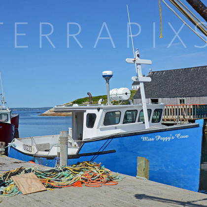 OCA120 Peggy's Cove Fishing Village-Nova Scotia, Canada