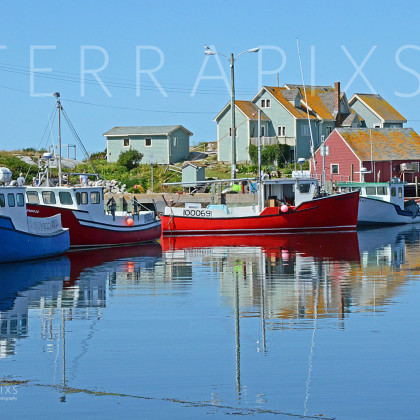 OCA112 Peggy's Cove Fishing Village-Nova Scotia, Canada