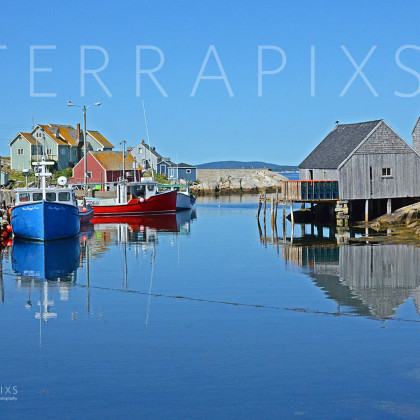 OCA113 Peggy's Cove Fishing Village-Nova Scotia, Canada