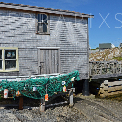 OCA114 Peggy's Cove Fishing Village-Nova Scotia, Canada