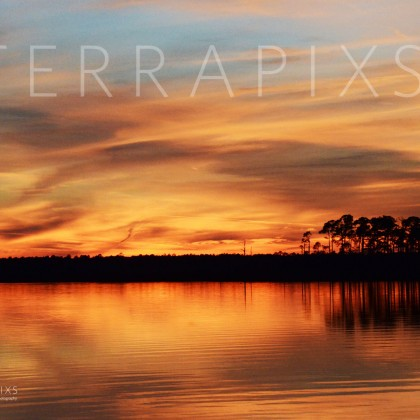 GUL218 Wolf Bay Sunset-Baldwin County, AL
